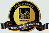 The Gold Medal Award for Cafes & Coffee Shops 2011 - Hotel & Catering Review