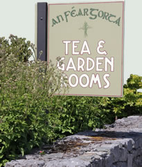 The Tea & Garden Rooms Sign, Ballyvaughan, Co Clare